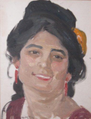 240: Daniel Vasquez Diaz Head of a Spanish Woman