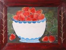 347: Pat Varner Still Life of Strawberries