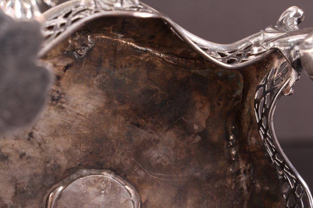 Antique 19th Century Georgian Style Silverplate Tea Urn - 9