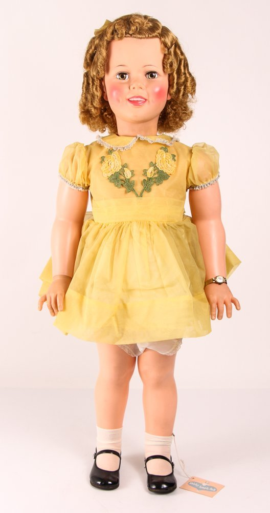"""Shirley Temple Ideal """"Play Pal Doll"""", 35.5 inches"""