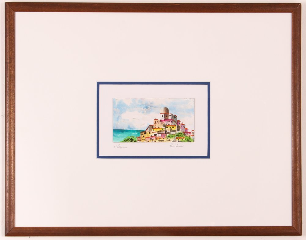 2 Views of Positano by O'Rocca - 2