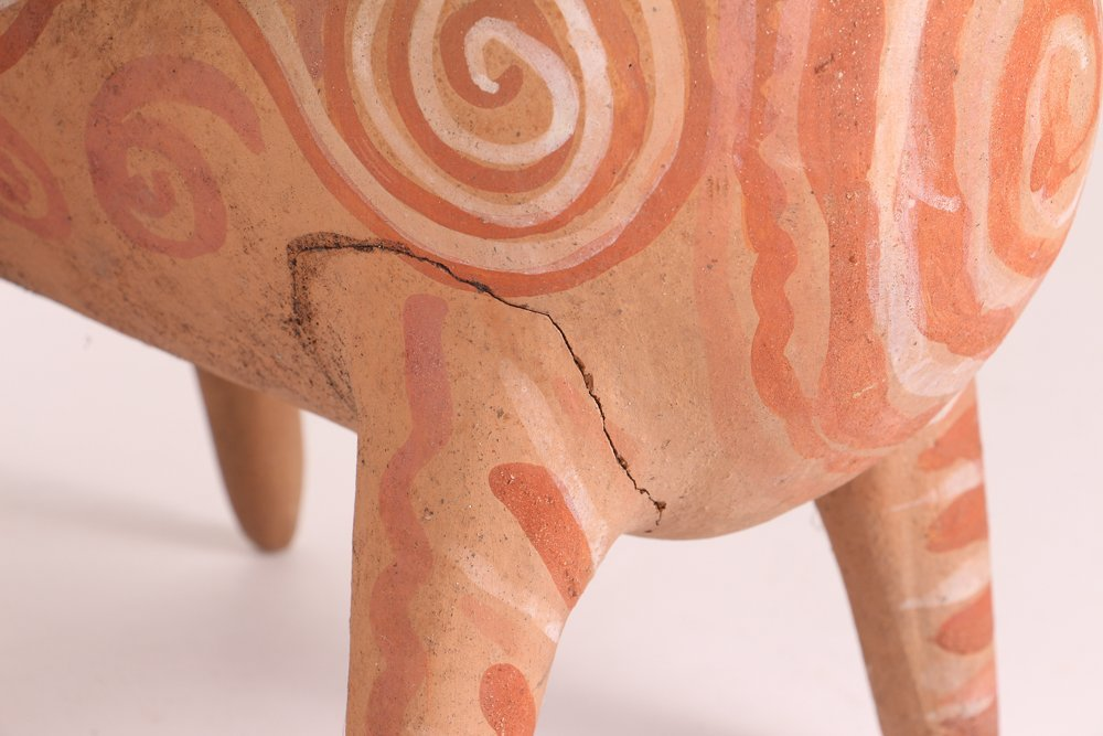 Aztec Style Terra Cotta Spirit Animals - 5