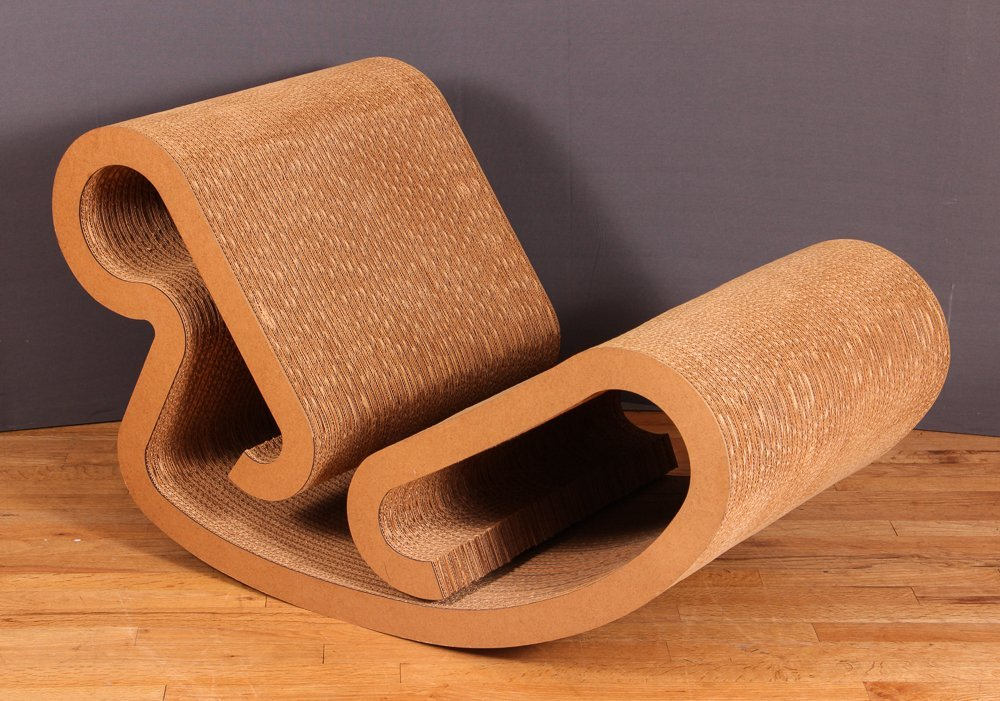 Frank Gehry Easy Edges Rocking Chair