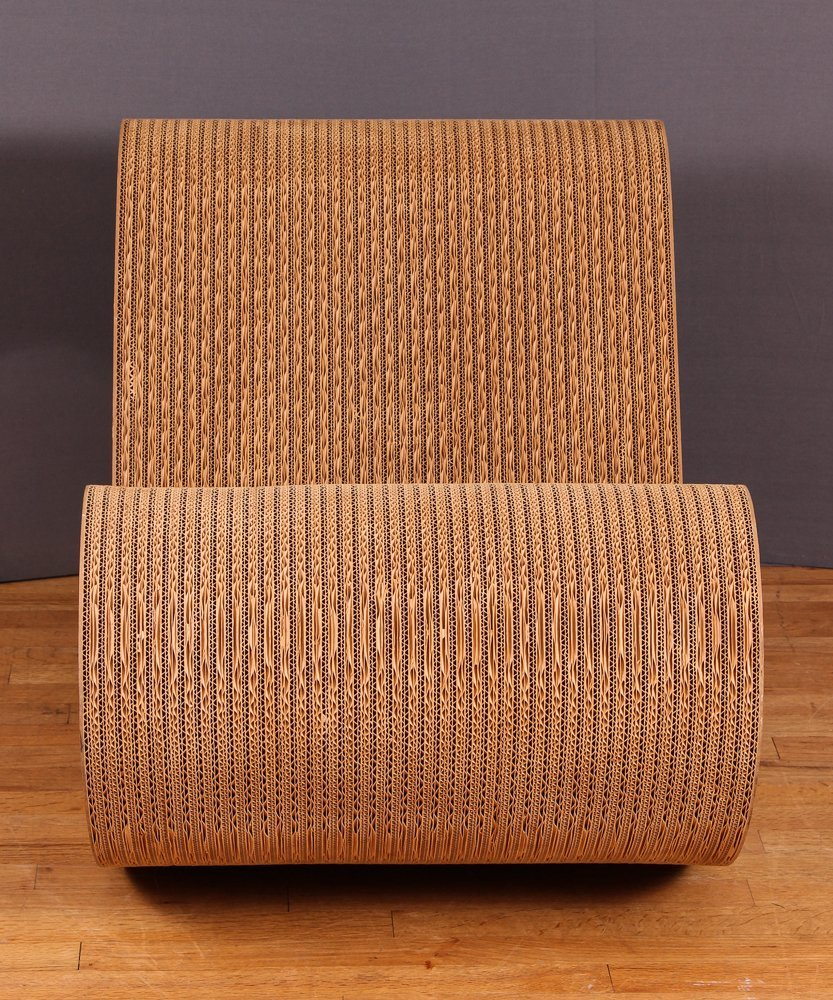Frank Gehry Easy Edges Rocking Chair - 2
