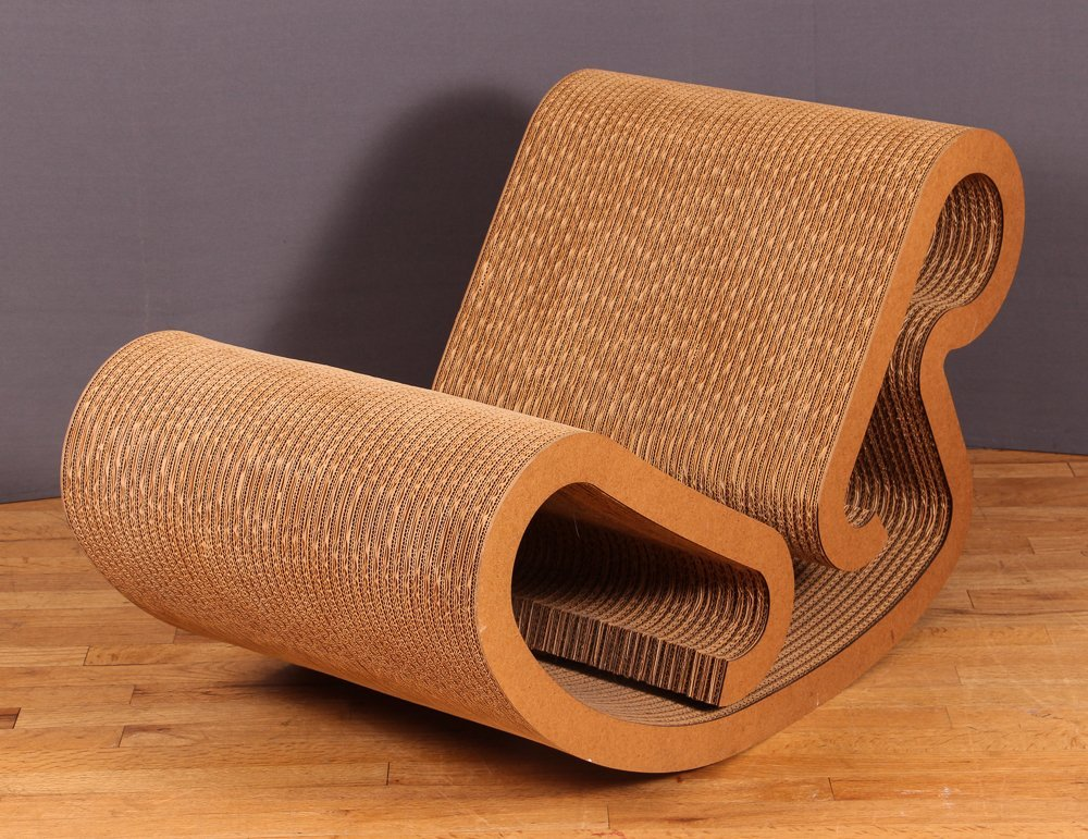 Frank Gehry Easy Edges Rocking Chair - 3