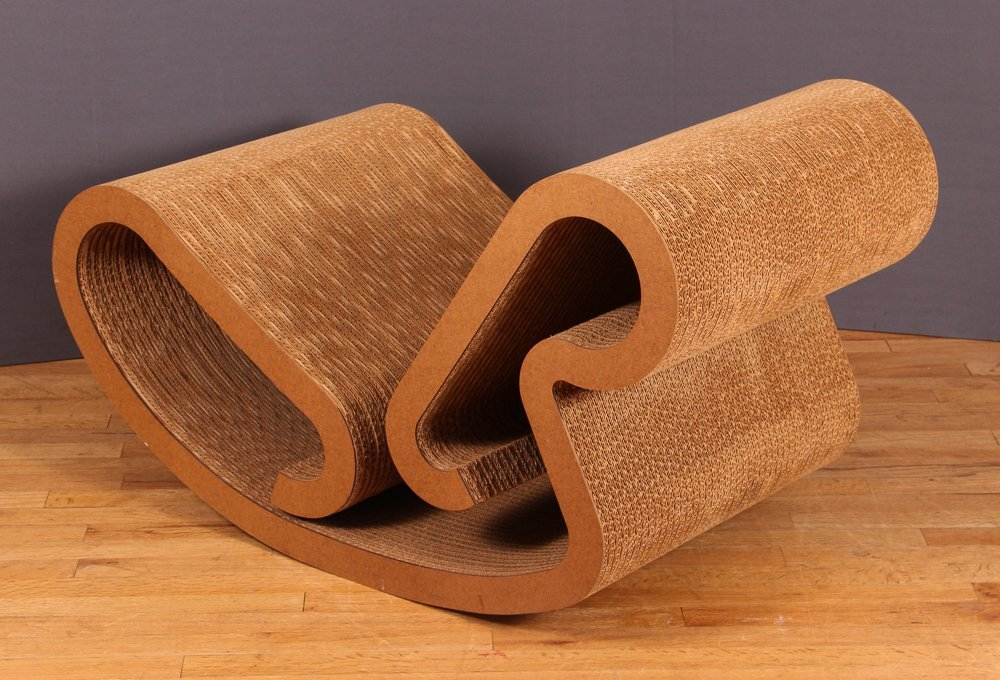 Frank Gehry Easy Edges Rocking Chair - 5
