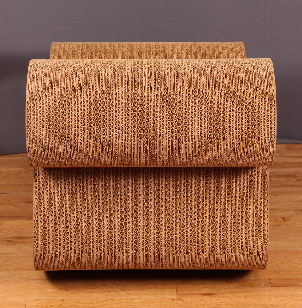Frank Gehry Easy Edges Rocking Chair - 6