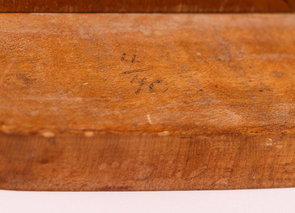 """William Accorsi wood sculpture """"Circus Strongmen"""" - 7"""