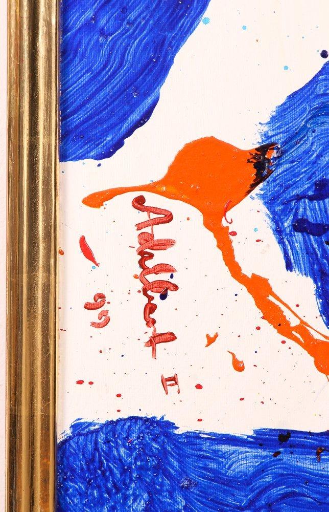 """Per Adalbert """"Untitled"""" Ab Ex painting - 3"""