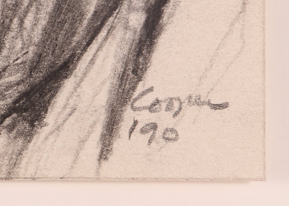 """2 Doug Cooper 1990 """"Pittsburgh Drawings"""" - 3"""