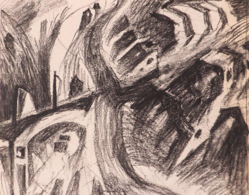 """2 Doug Cooper 1990 """"Pittsburgh Drawings"""" - 5"""