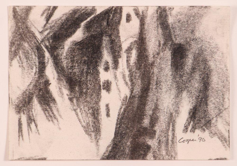 """2 Doug Cooper 1990 """"Pittsburgh Drawings"""" - 6"""