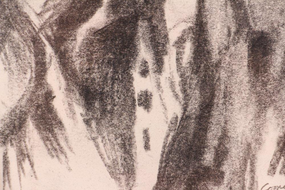 """2 Doug Cooper 1990 """"Pittsburgh Drawings"""" - 9"""