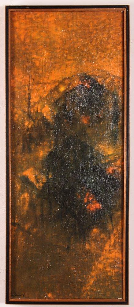 "Le Ba Dang Painting ""Oriental Sunset"""