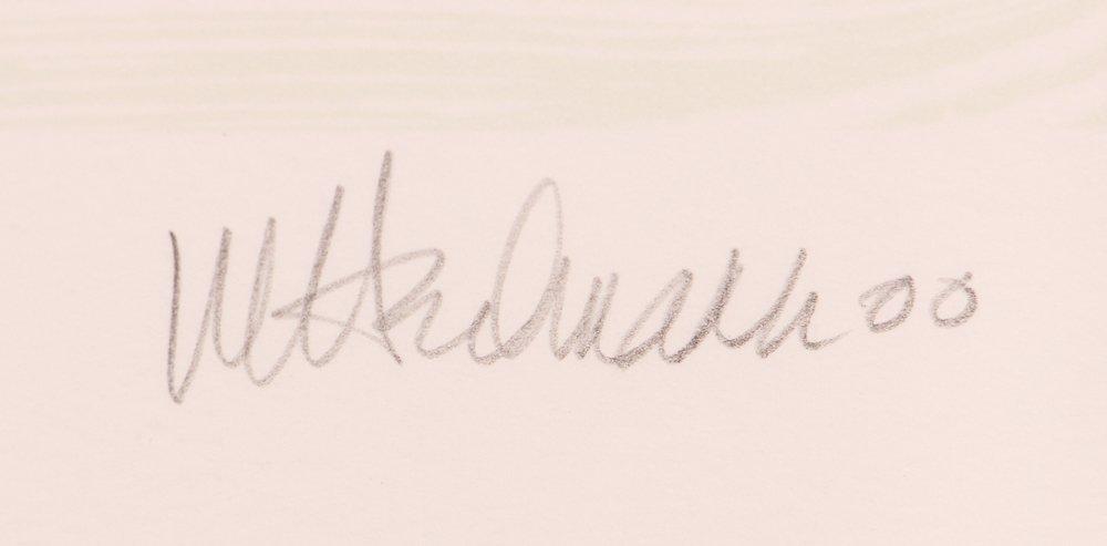 """Mary Heilmann orig litho 2000, """"EARTH AND AIR"""" - 3"""