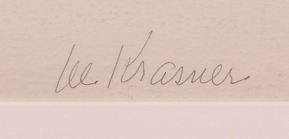 """Lee Krasner 1974 orig serigraph """"Embrace"""" - 3"""