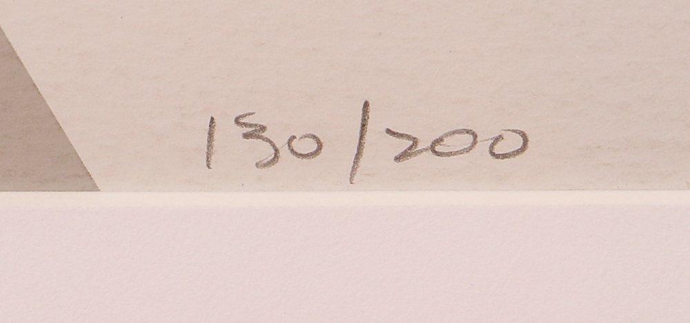"""Lee Krasner 1974 orig serigraph """"Embrace"""" - 4"""