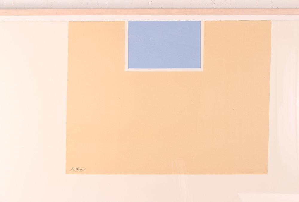 "Robert Motherwell ""London Series II"" (Blue/Tan) 1971 - 2"