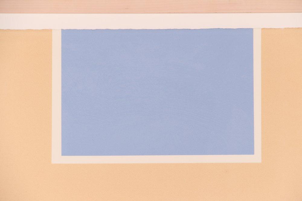 "Robert Motherwell ""London Series II"" (Blue/Tan) 1971 - 3"