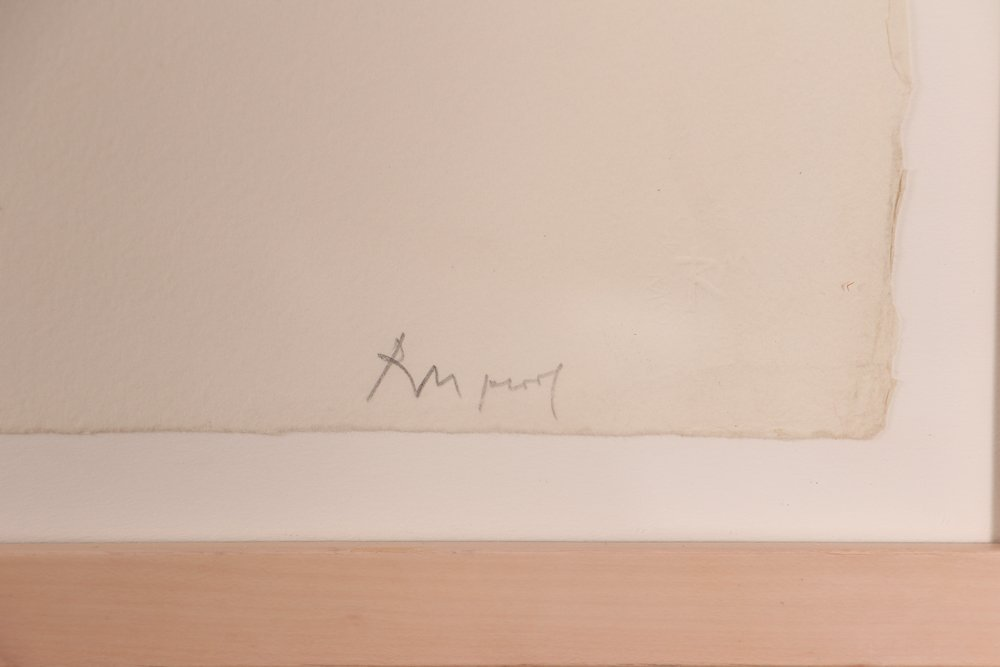 "Robert Motherwell ""London Series II"" (Blue/Tan) 1971 - 4"