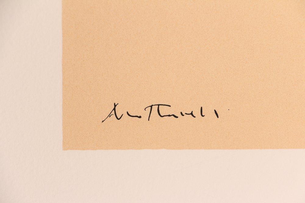 "Robert Motherwell ""London Series II"" (Blue/Tan) 1971 - 5"