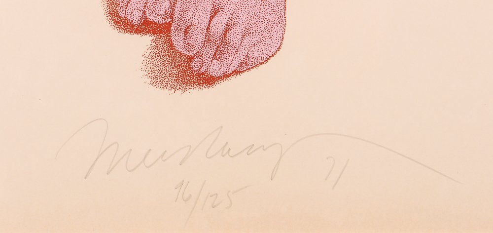 "Mel Ramos 1971 orig serigraph  ""Chimpanzee"" - 3"
