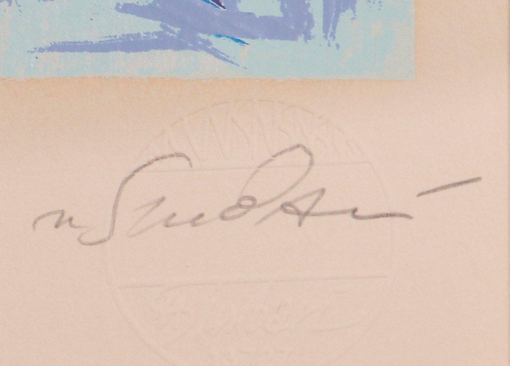 """Nicola Simbari """"White Beach"""" Signed & Numbered - 3"""