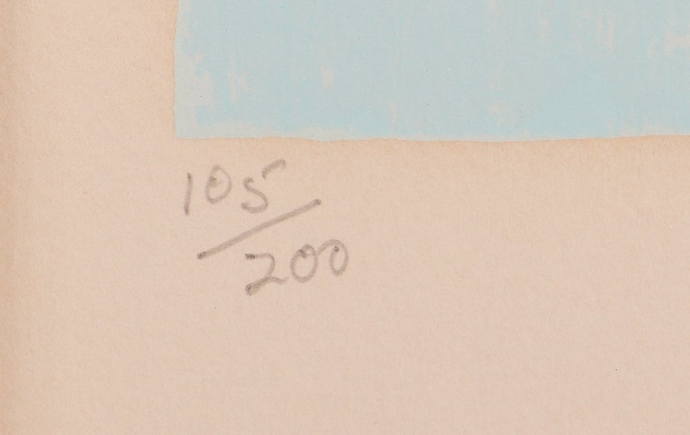 """Nicola Simbari """"White Beach"""" Signed & Numbered - 4"""