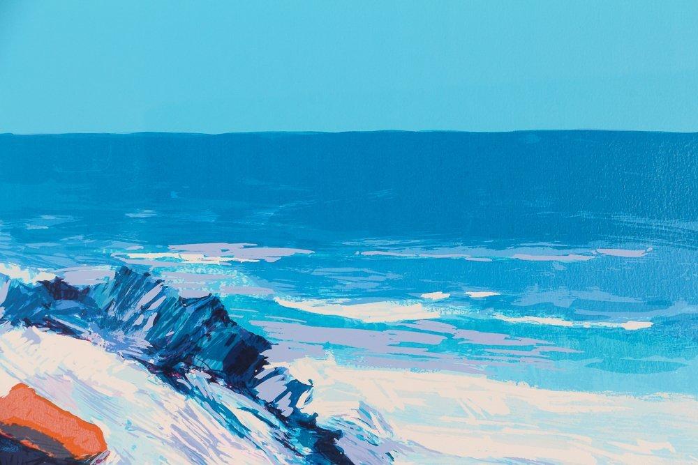 """Nicola Simbari """"White Beach"""" Signed & Numbered - 7"""