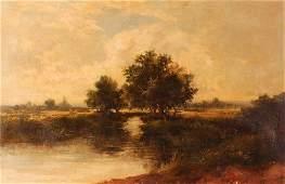 Henry Cooper Landscape Painting