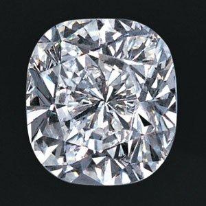 1ct-E:-VS2:-Cushion Cut GIA Diamond