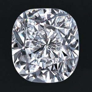 1ct-F:-VS2:-Cushion Cut GIA Diamond