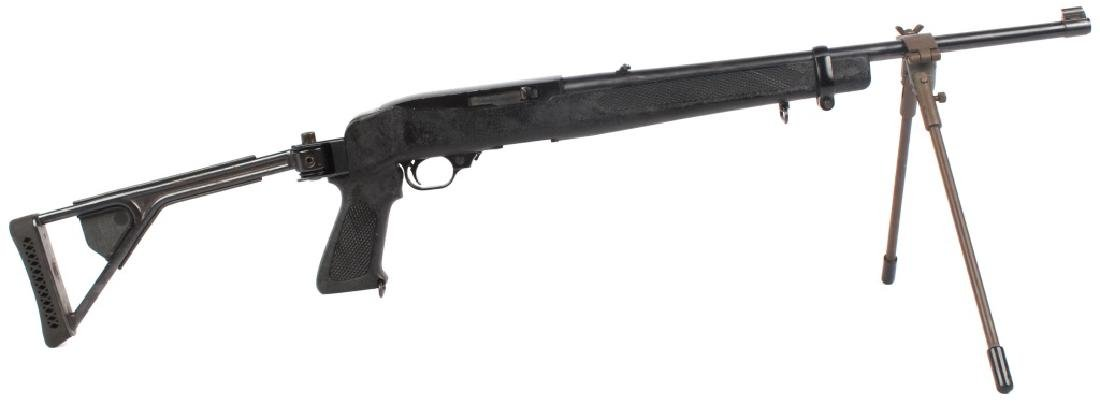 RUGER 10/22 RIFLE SYNTHETIC FOLDING STOCK & BIPOD