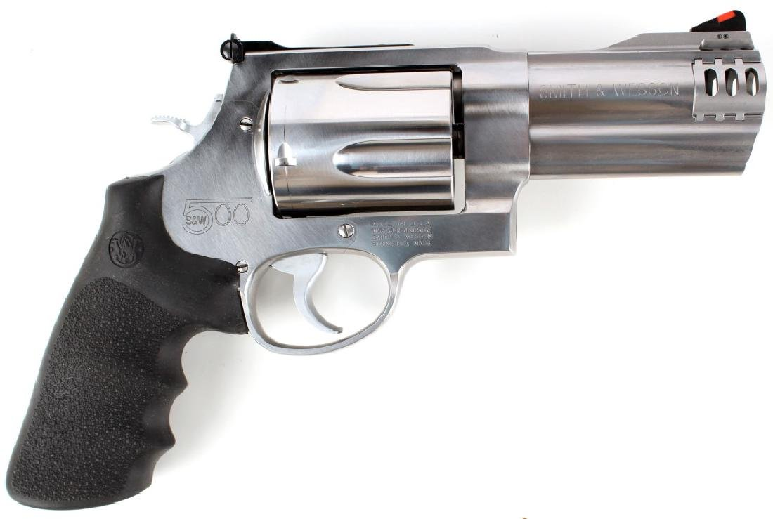 SMITH & WESSON MODEL 500 REVOLVER 500 S&W