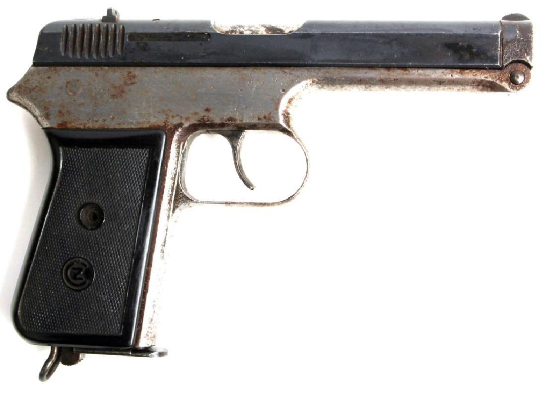 WWII GERMAN CZ MODEL 38 PISTOL 380 CAL