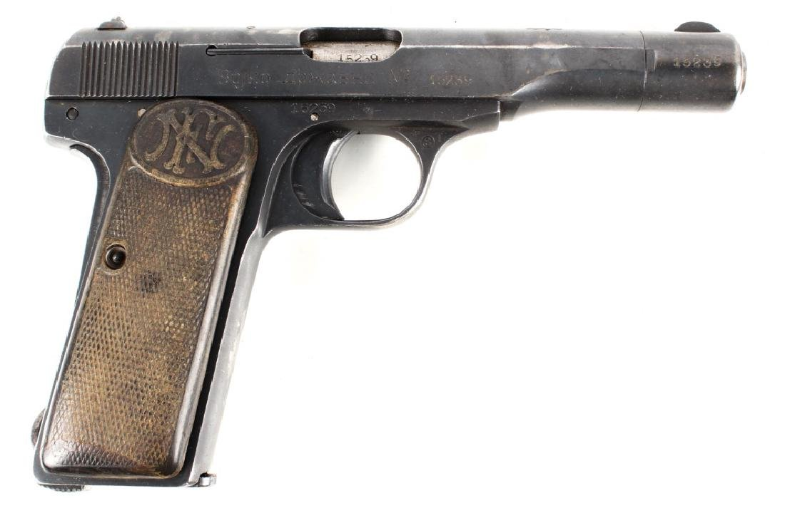 YUGOSLOVIAN FN MODEL 1922 PISTOL