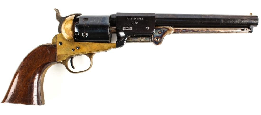 CASED NAVY ARMS CO 36 CAL PERCUSSION REVOLVER