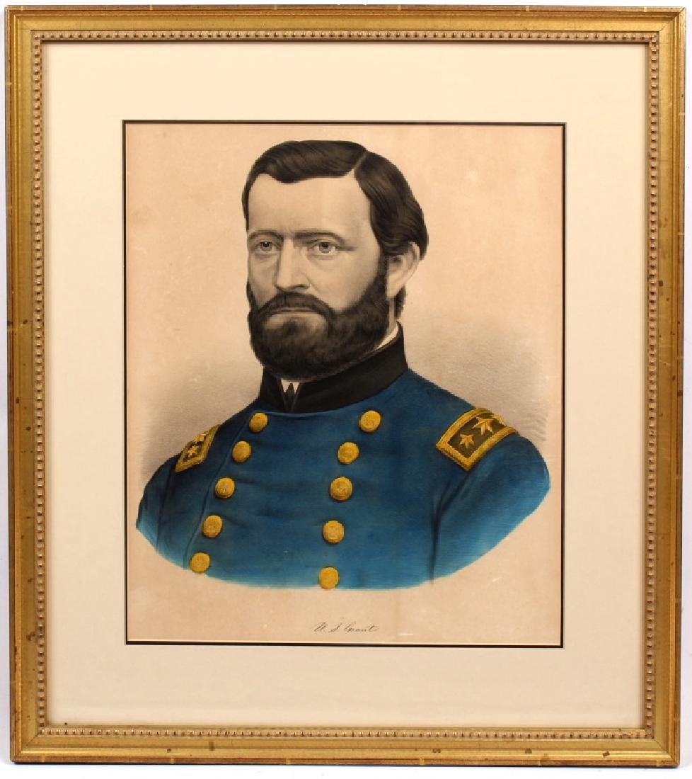 U.S. GRANT FRAMED PORTRAIT