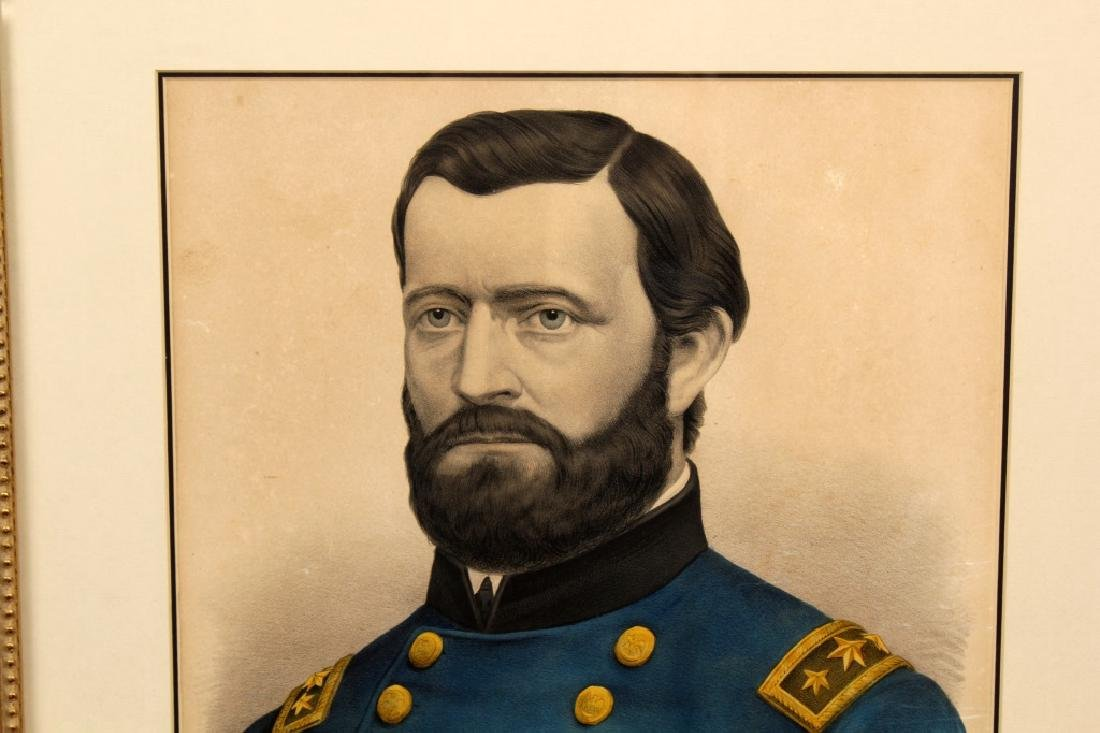 U.S. GRANT FRAMED PORTRAIT - 3