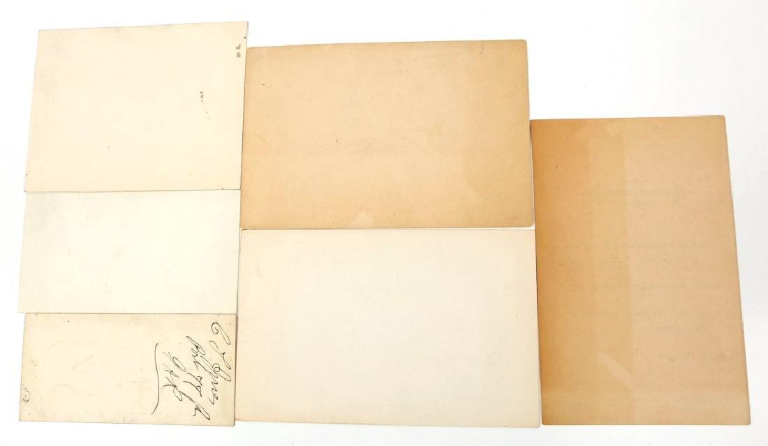 1879 G.A.R. U.S. GRANT RECEPTION TICKET LOT OF 6 - 2
