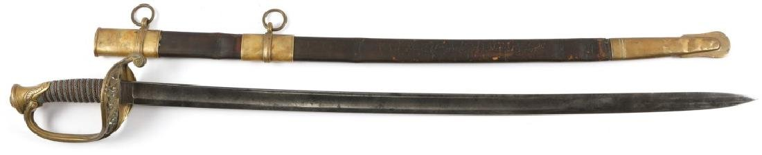 M1850 ARMY OFFICERS PRESENTATION SWORD NAMED