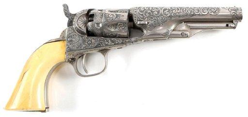 1866 COLT M1862 POLICE POCKET PERCUSSION REVOLVER