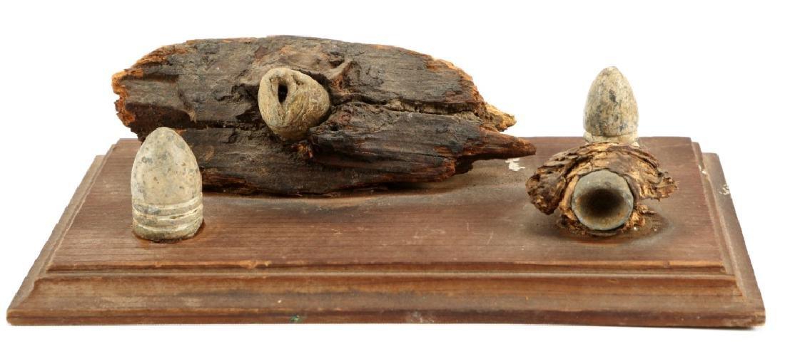 CIVIL WAR 1864 BATTLE OF THE WILDERNESS BULLETS