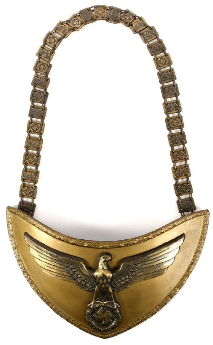 WWII GERMAN GORGET