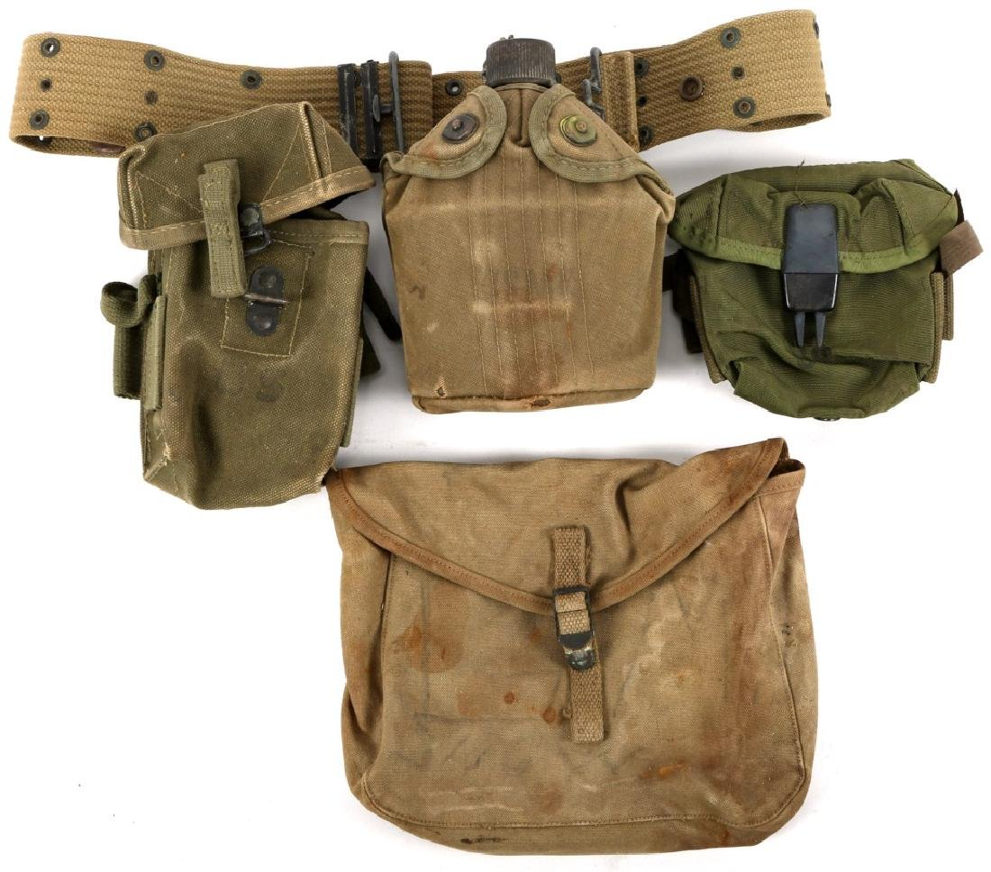US MILITARY CANTEENS AND POUCHES
