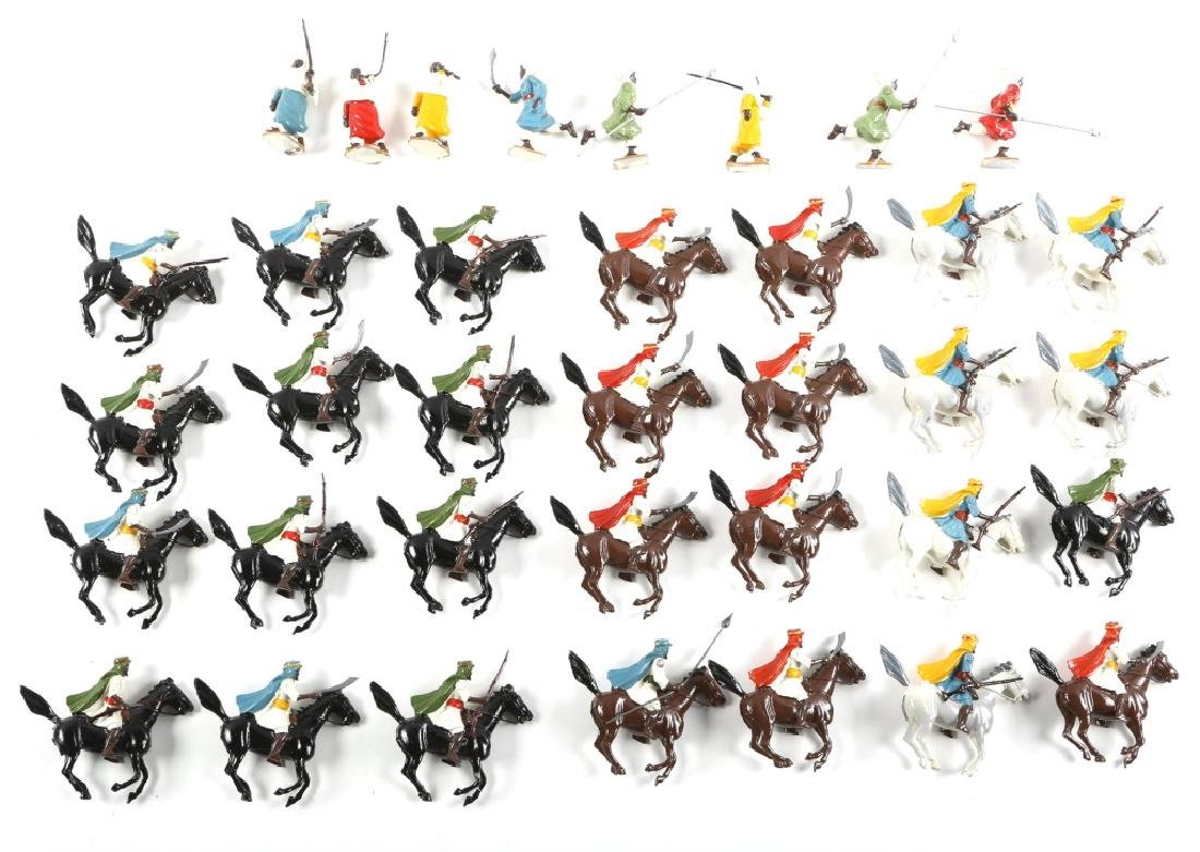 LOT OF BRITAINS FIGURES CAVALIERS AND SOLDIERS
