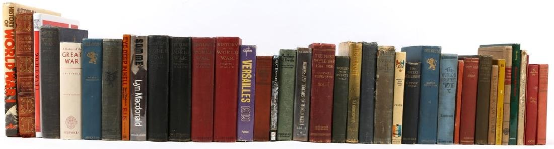 MILITARY WWI REFERENCE BOOKS 67LB