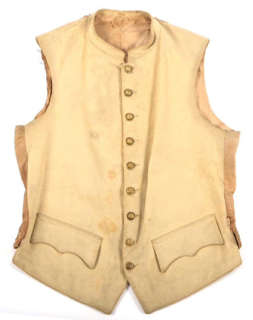 INDIAN WAR OFFICER DRESS UNIFORM VEST