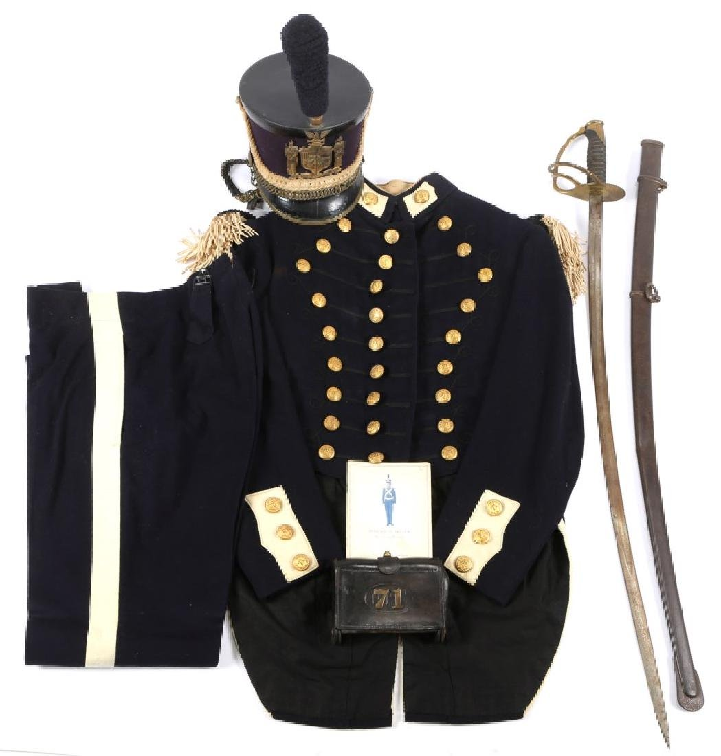 INDIAN WAR 71st INFANTRY NY NATIONAL GUARD UNIFORM