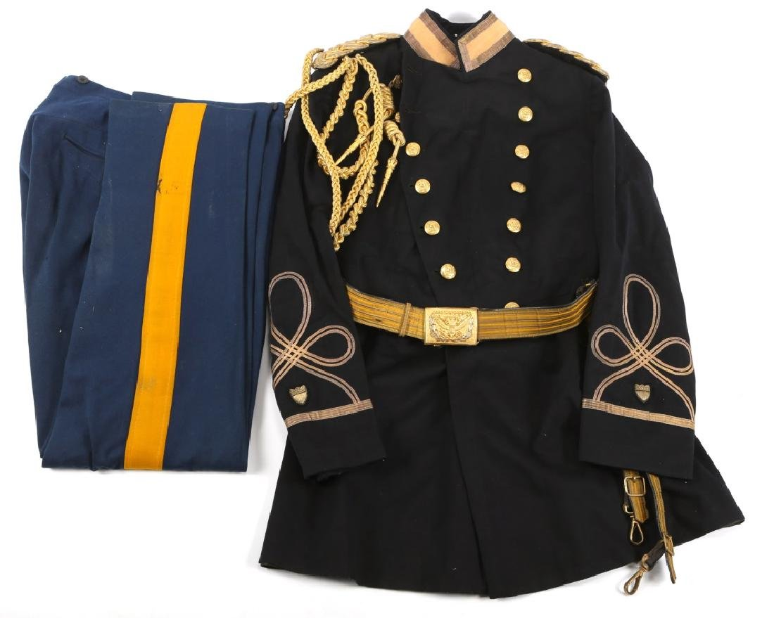 US M1902 CAVALRY OFFICER AIDE DE CAMP UNIFORM